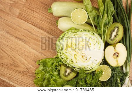 Fresh Green Vegetables