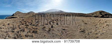 Dry Field To Mountain
