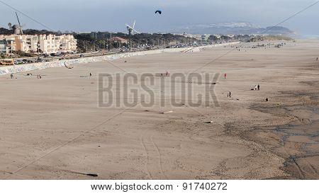 Ocean Beach Coastline