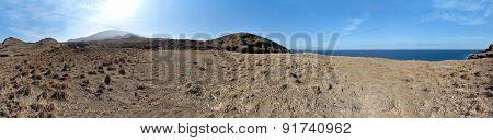 Dry Field Over Ocean
