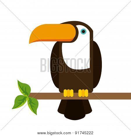 Animal design over white background vector illustration