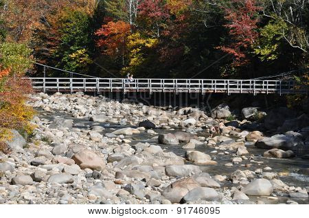 Fall Colors at the White Mountain National Forest in New Hampshire