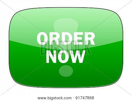 order now green icon