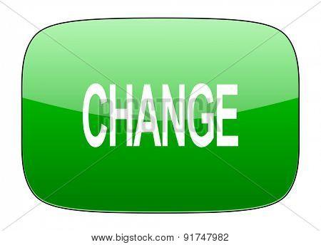 change green icon