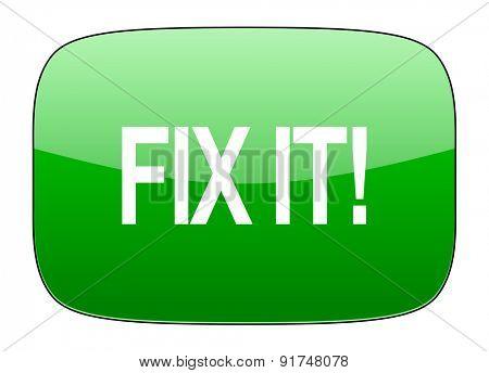 fix it green icon