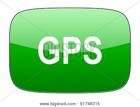 gps green icon