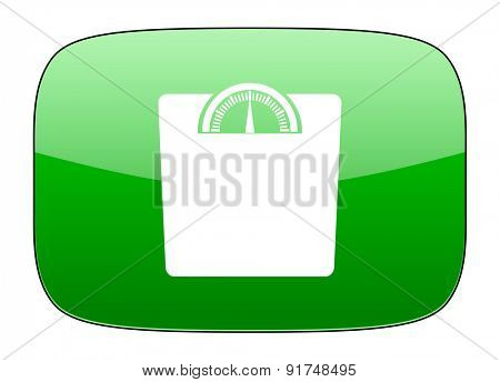weight green icon