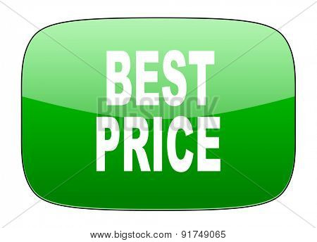 best price green icon