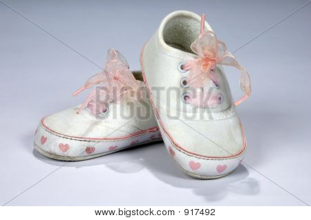 Baby Shoes With Fancy Laces