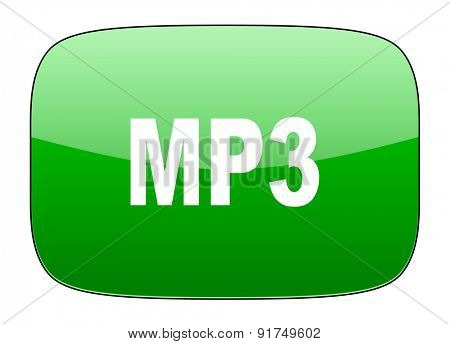 mp3 green icon