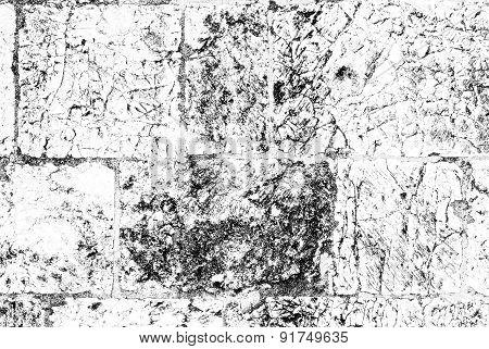 Black-and-white Texture  Jerusalem Stone