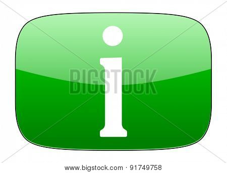 information green icon