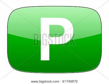 parking green icon