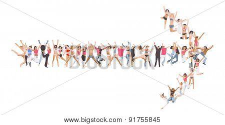 Many People Illustration
