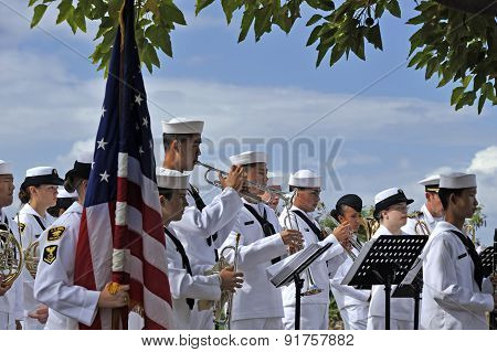 Concert in Punch Bowl Cemetery