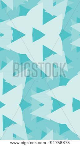 Light Blue Triangular Shapes