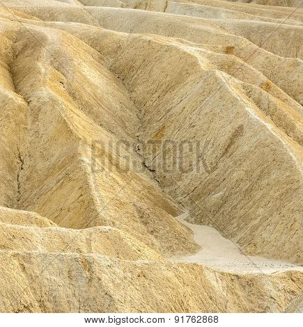 Zabriskie Point - Badlands Formation