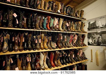 Boots Shelves