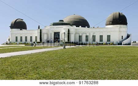 Griffith Observatory - Panoramic View