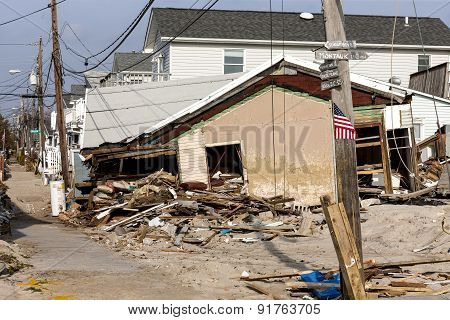 Hurricane Sandy Destruction At Breezy Point - Photo 20