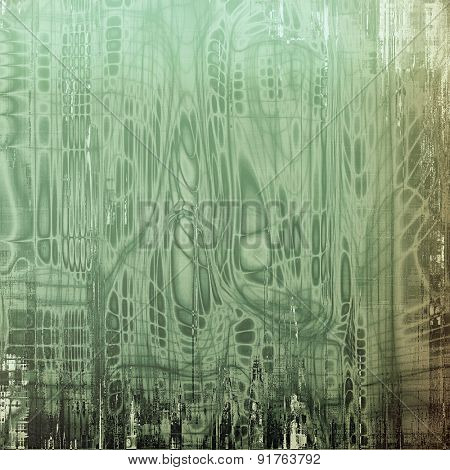 Highly detailed grunge texture or background. With different color patterns: brown; gray; black; green