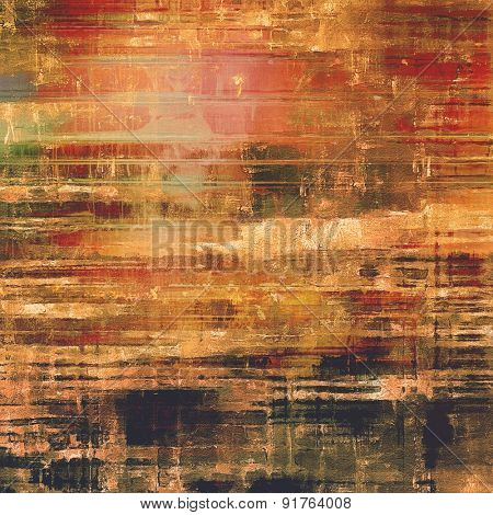 Ancient grunge background texture. With different color patterns: yellow (beige); brown; red (orange); black