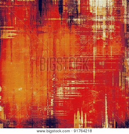 Background with grunge stains. With different color patterns: yellow (beige); brown; red (orange); purple (violet)