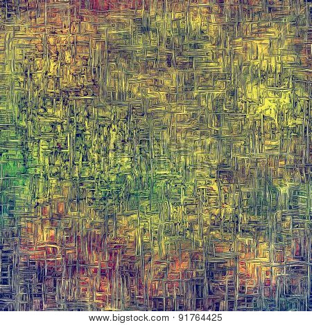Old, grunge background texture. With different color patterns: yellow (beige); brown; purple (violet); green