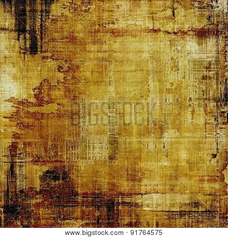 Old Texture. With different color patterns: yellow (beige); brown; gray; black