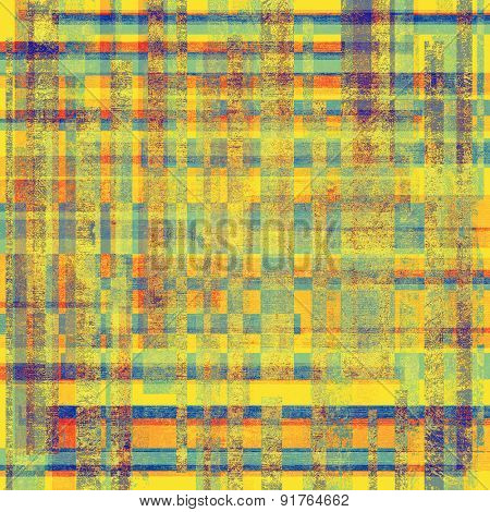 Old, grunge background texture. With different color patterns: yellow (beige); red (orange); blue; green
