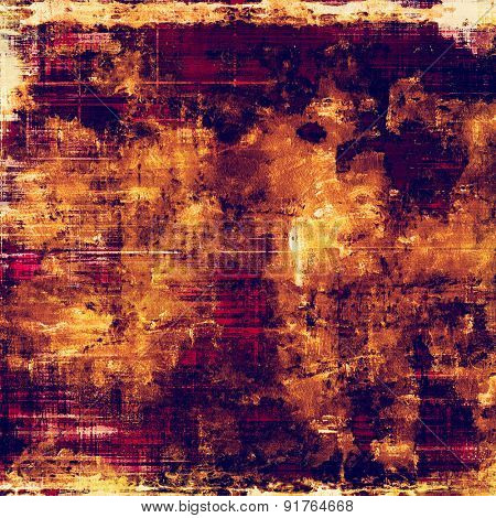Grunge, vintage old background. With different color patterns: yellow (beige); brown; purple (violet); pink
