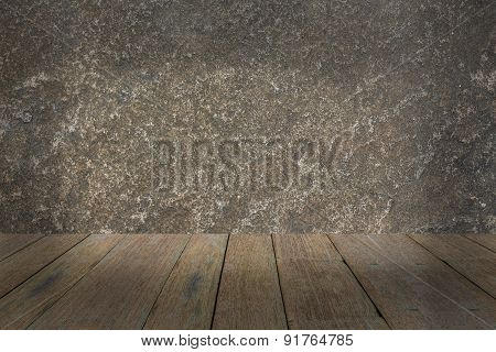 Wood And Abstract Background
