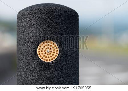 Black Asphalt Barricade