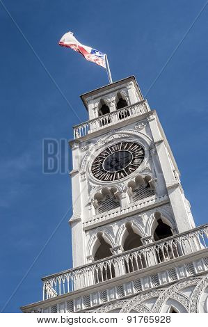 The Torre Reloj (clock Tower) In Iquique, Chile