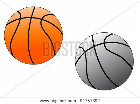 Two Basket Balls