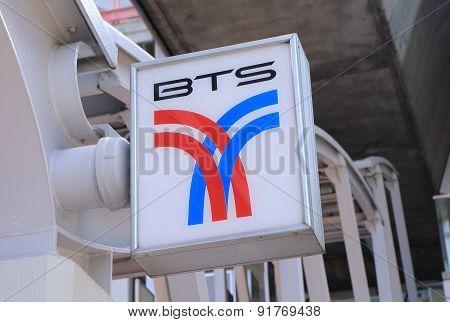 BTS Bangkok public transport