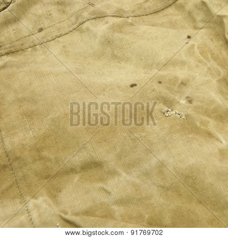 Weathered Old Pale Green Trap Fabric Background