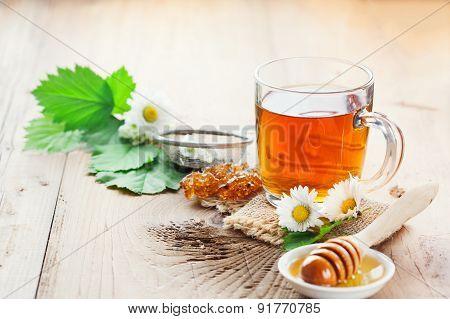 Herbal Tea And Honey