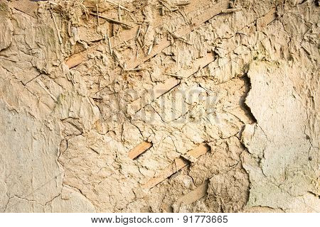 Wattle And Daub Wall Texture