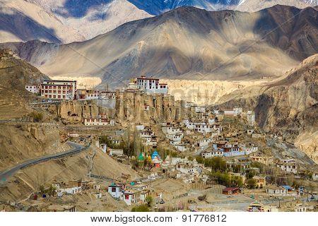 Basgo Monastery In Ladakh India