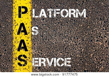 Business Acronym Paas