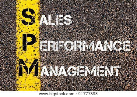 Business Acronym Spm As Sales Performance Management