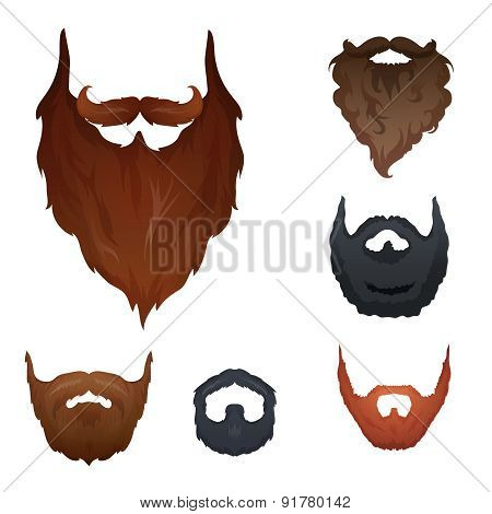 Set of Beards