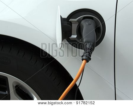 Electric Car Loading