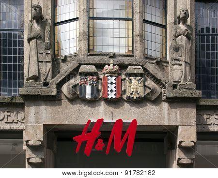 H & M In Amsterdam