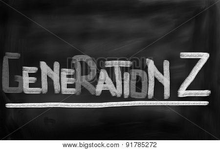 Generation Z Concept