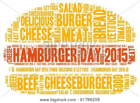 Hamburger Day 2015 - Word Cloud