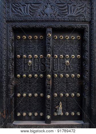 Door in Stone Town, Zanzibar