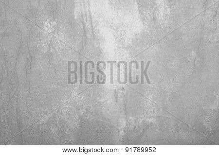 Grey Wall Texture Background With Stains