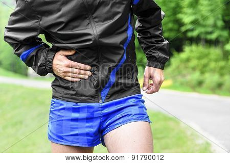 Runner side cramps after running